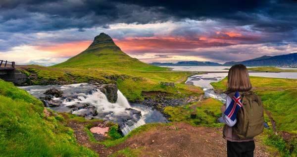 IJsland groen